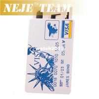 Wholesale James Bond Locksmith Tools Padlock Credit Card Pickset Lock Pick Set NEJE