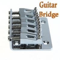 Wholesale Guitar Parts mm Chrome Strings Saddle Hardtail Bridge Top Load Guitar Accessories