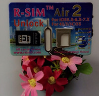 Wholesale DHL free Original RSIM AIR2 FOR ios x x C S R SIM Air R SIM GOLD Sprint Verizon ATT T mobile