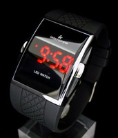 Wholesale Men s Luxury Date Digital Sport Led Watch With Red Light A481