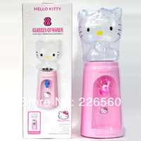 0 GAW-012-HelloKitty Plastic Free Shipping 1Piece 2.5 Liters Hello Kitty Style Mini Water Dispenser 8 Glasses Water Dispenser