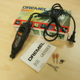Wholesale W Dremel Variable Speed Rotary Tool Electric Tool Mini Drill Mini Grinder with accessories