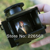 Wholesale EMS Sets DIY LOMO Camera Science Vo1 Twin Lens Reflex Camera Kit