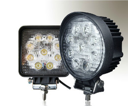 Wholesale 4 quot inch W LED Working Light Spot Flood Lamp Motorcycle Tractor Truck Trailer SUV JEEP Offroad LarcoLais with Video