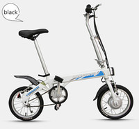Wholesale Aluminum alloy Folding Lithium battery electric bike road bicycle inch wheel max load kg w brushless motor for kids children women