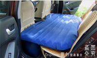 all air mattress - Thick Car back seat travel inflatable bed air mattress with inflator Pump inflatable pillow for sleeping car sex