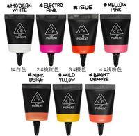 Lip Gloss   Wholesale-407-Free Shipping 3 concept eyes Lip Pigment, 3CE Stylenanda Lip makeup charming Candy Color Liquid Lip Gloss Multi colors