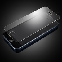 Wholesale For iPhone S S C plus Premium Real Tempered Glass Film Screen Protector Explosion Proof Without Retail package