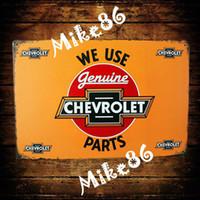 metal plaque - Mike86 WE USE PARTS CAR POSTER Metal Plaque PUB House Metal Painting Bar Decor AA Mix order CM