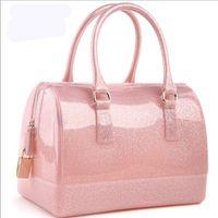 handbag silicone - Women Ladies silicone furly jelly f handbag famous brand desigual beach wateroof bag candy bags purses high quality bolsas totes