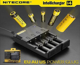 Wholesale Nitecore Battery Charger Nitecore I4 Charger for CR123 Universal battery Charger Retail Package