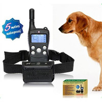 Wholesale Waterproof LCD Level Shock Vibra Remote Dog Training Collar New Rechargeable Training Dog Device E033