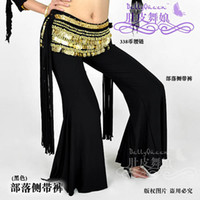 Cheap Hot Sale Women's Boutique New Tribal Belly Dance Costume Trousers Pants Without Belt BD-0707
