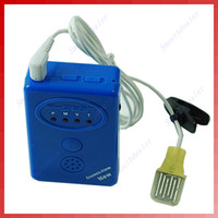 0618901   Blue Adult Baby Bedwetting Enuresis Urine Bed Wetting Alarm+Sensor With ClampFree Shipping wholesale retail