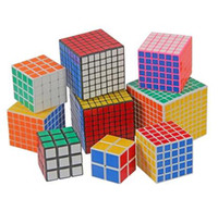 Wholesale HOT Christmas magic cube of order two three four five six seven eight nine professional high price Rubik s cube super smooth zone