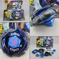 Wholesale Beyblade Metal Fusion D Set DIABLO NEMESIS BB118 BB119 BB121 BB121A Kids Game Toys Children Christmas Gift TL301