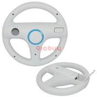Wholesale New Racing Steering Wheel for Controller with Motion Plus White