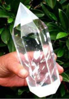 Wholesale NATURAL TRANSPARENT QUARTZ CRYSTAL POINT HEALING BIG
