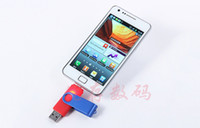 Wholesale 2014 by DHL Smart Cell phone pendrives GB USB Flash Drive Thumbdrie pen drive U disk external storage micro memory stick