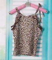 Sample baby girl kids summer leopard tank top singlet shirt ...