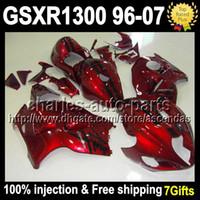 100% Injection+ 7 gifts For SUZUKI Hayabusa GSXR1300 GSX- R130...