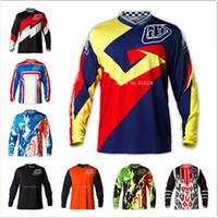 Wholesale 2014 New Troy Lee Designs GP AIR Moto Jersey Men MTB Bike Cycling Racing Motorcycle Motocross TLD Jerseys Long T Shirts