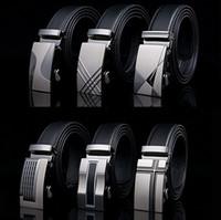 Belts belt buckle types - Men s leisure115 cm Belt man pure leather belt casual and korean type automatic buckle belts widened