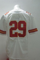 Football Men Short Free Shipping #29 Eric Berry White 2014 Cheap American Football Elite Jerseys Rugby Stitched Authentic On Field Game Limited Jersey