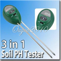 Wholesale 3 in1 Plant Flowers Soil PH Tester Moisture Light Meter Hydroponics Analyzer New