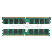 Wholesale New GB DDR2 PC2 U DDR2 MHZ DIMM Memory RAM For PC Desktop Pin