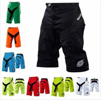 Wholesale High quality with Pad Brand New Troy lee designs TLD Moto Shorts Bicycle Cycling shorts MTB BMX DOWNHILL Motorcross Short Pants