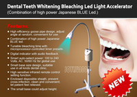 Up to 2000 mW/cm   100/240, 50/60 Hz   38cm Dental Clinic Teeth Bleaching LED Light Teeth Whitening Machine with RED BLUE LED, 26W, up to 4000mw cm2, 150,000 hours life, ONE Kit FREE