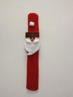Wholesale 21cm Christmas decrotion snowman Christmas items pat circle variety circle wrist band christmas hats MZ