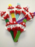 christmas items - 21cm Christmas decrotion snowman christmas ornaments Christmas items pat circle variety circle wrist band christmas accessories