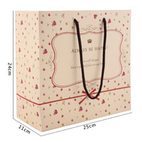 Paper Hand Length Handle Yes 20 Elegant Flower Paper Bag Festival Gift Bag With Handle Shopping Packing