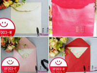 Bamboo White,Red,Pink Other Invitation card envelope square-fashion envelope envelopers pearl paper envelope white pink red