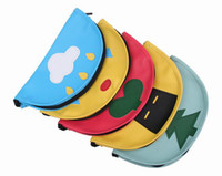 cosmetic pads - Cute Pencil Bags Leather Portable Mouse Pencil Case Cosmetic Makeup Pad Bag Pouch Style Choose GMI