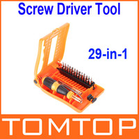 other other H9706 Wholesale-407-29-in-1 Interchangeable Professional Versatile Hardware Screwdriver Tool Kit with Carry Box Free Shipping wholesale
