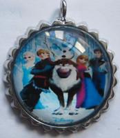 Wholesale 201407H frozen pendant snow Romance pendant fashion jewelry cute