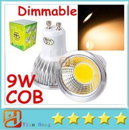 9W Dimmable Led Spotlights High Power COB GU10 E27 E26 MR16 GU5.3 Led Bulbs Lights Cool Warm White 120 Anlge 110-240V 12V