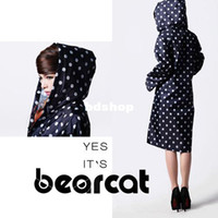 best waterproof poncho - Best selling split raincoat waterproof women s long design with a hood poncho