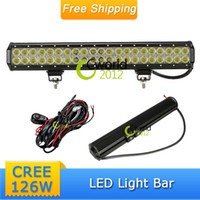 Tail light Assembly Daewoo LED 20'' 126W CREE LED Work Light Bar IP67 Car Truck Tractor Jeep Mining 4WD Offraod Driving Fog Spot Beam Headlamp Running Light