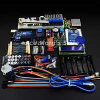 Wholesale Arduino UNO R3 KIT Upgraded version of the For Starter Kit the RFID learn Suite Stepper Motor ULN2003 Best prices amp Free shiping