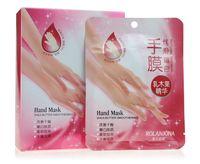 Wholesale hand Mask For hand Peeling pairs Tendering Dead Skin Exfoliator Remover Baby Milk Bamboo Vinegar Peeling hand mask