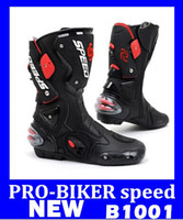 Wholesale hight quality Pro biker racing boots automobile racing shoes motorcycle racing long shoes off road motocross boots HIGHT QUALITY Free ship