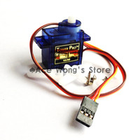 Wholesale SG90 g Mini Micro Servo for RC for RC Helicopter Airplane Car