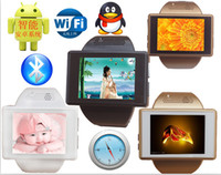Wholesale Bluetooth android clearly the screen that wrist watch phone An1 intelligent WIFI bluetooth JAVA A4
