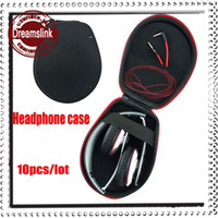 Wholesale Carrying Hard Hold Case Storage Bag Box for Earphone Headphone Earbuds SD Card Brand ellipsoid oval shaped