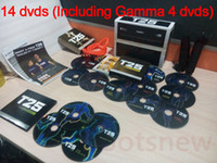 Cheap hot!!T25 Slimming Training Factory Saled 14 DVDs Focus T25 Fast Shipment Shaun T's Crazy Potent Set Alpha Beta Gamma Core Speed T25 Workout