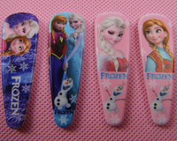 Wholesale frozen hair clips Snow Princess Adventure Romance hair jewelry hair clips head dress accessories